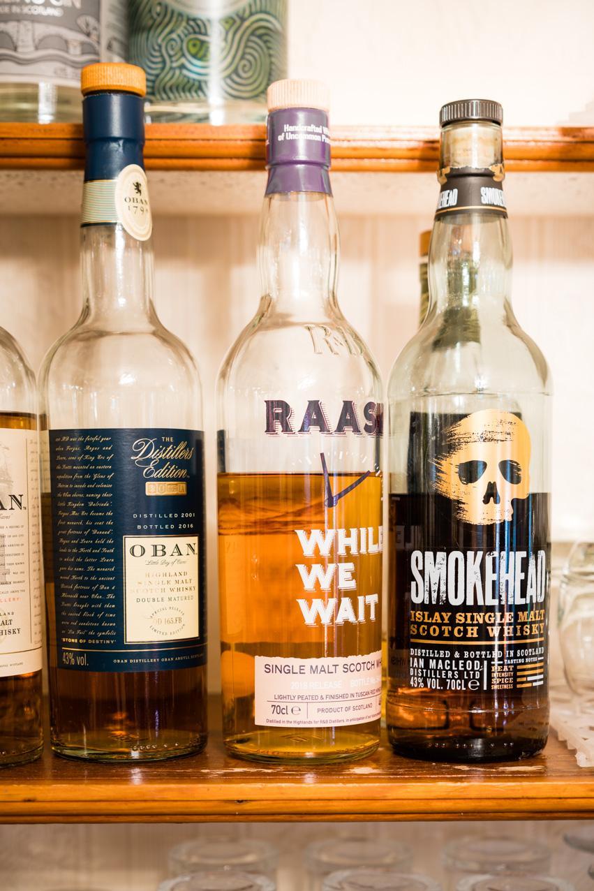 Highland & Island whiskies Raasay Oban Islay