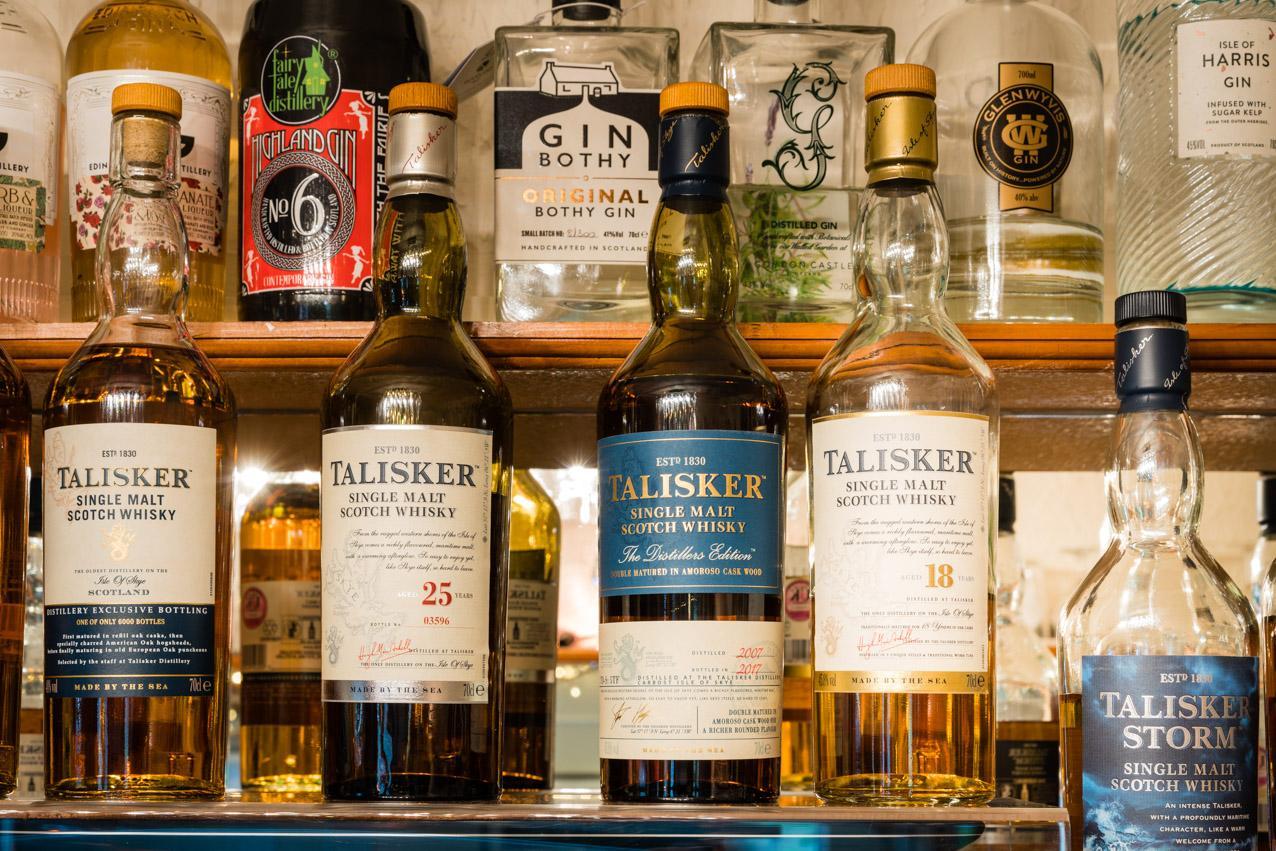 premium Talisker Whisky Distillers Edition